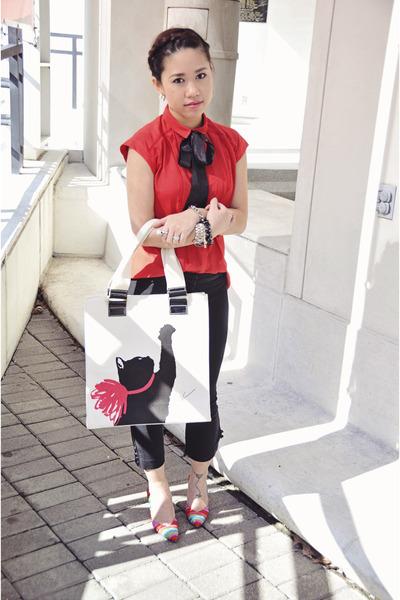 cat Jason Wu for Target bag - stuart weitzman heels