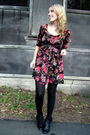 Black-h-m-dress-black-steve-madden-boots-black-hue-tights-black-joe-fresh-