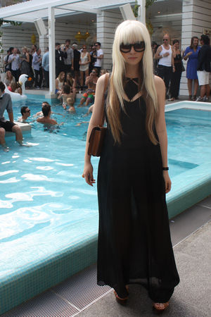 black silk maxi Zimmermann dress