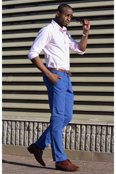 wingtips Pegabo shoes - Indochino shirt - American Eagle pants