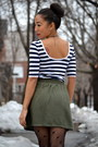 Stripes-forever21-dress-fishnet-aldo-tights-forever21-skirt