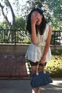 Ribbed-tank-old-navy-top-denim-print-louis-vuitton-bag-boutique-shorts