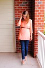 Skinny-destination-maternity-jeans-tunic-winsome-jones-shirt