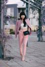 Shell-pink-jacket-mini-255-flap-chanel-bag