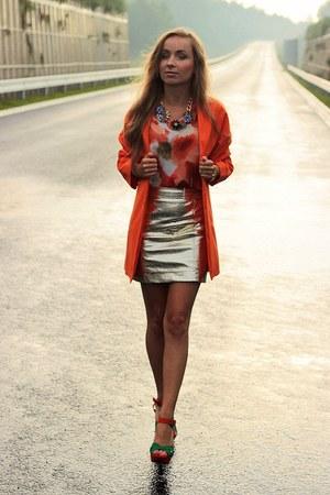 carrot orange Mohito coat