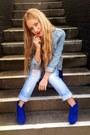Blue-asos-boots-blue-topshop-dress-sky-blue-jeans-denim-asos-jeans