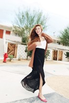 black Nanda skirt