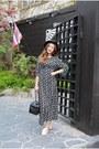 Charcoal-gray-dress