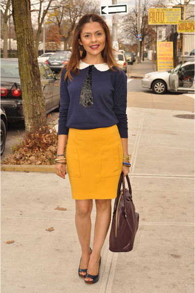 Forever 21 sweater - Forever 21 skirt