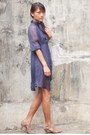 Blue-thrifted-dress-shoes