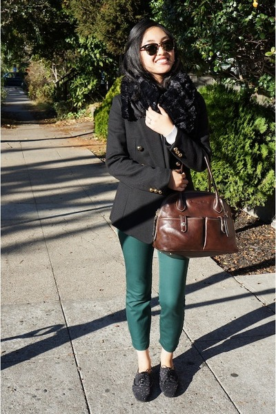 31 Phillip Lim jacket - Mango sweater - JCrew pants - Jimmy Choo flats