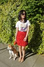 Impulse x Giambattista Valli skirt - Marc by Marc Jacobs t-shirt