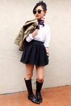 Ralph Lauren boots - J Crew jacket - Ralph Lauren shirt - H&M skirt