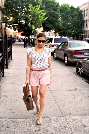 Forever 21 shoes - Forever 21 shorts - Marc by Marc Jacobs sunglasses - Michael