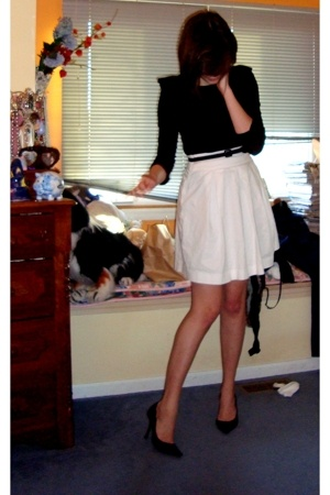 Urban Outfitters shirt - Express dress - Express skirt - BCBGgirls shoes