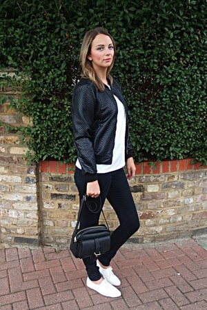 Joy jacket - Topshop shoes - asos jeans - Joy bag - Joy top