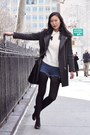 Salvatore-ferragamo-shoes-pixie-market-coat-vintage-sweater-h-m-shirt