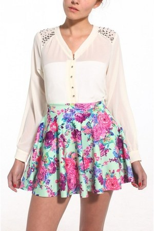 skirt - blouse