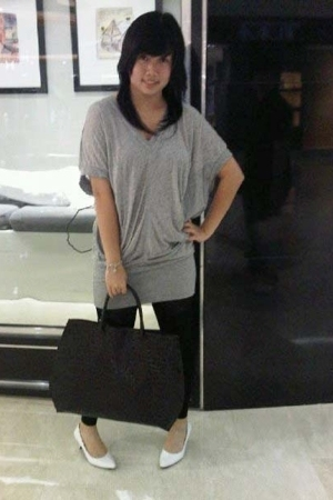 ITC shirt - ITC leggings - Charles &amp; Keith purse - Gaudi shoes - Juicy Couture b