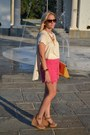 Yellow-asos-bag-hot-pink-sabo-skirt-shorts-chanel-sunglasses