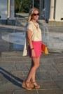 Yellow-asos-bag-hot-pink-sabo-skirt-shorts-chanel-sunglasses
