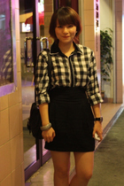 Zara skirt - Tastemaker shirt - H&M accessories - Charles & Keith shoes