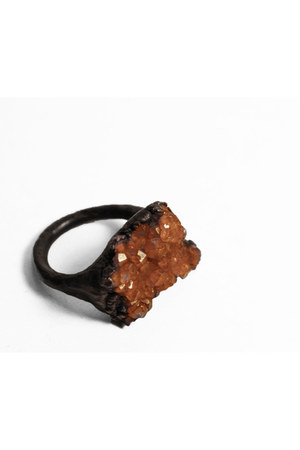 burnt orange pi-rok ring