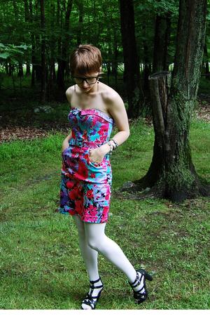 H&M dress - Old Navy tights