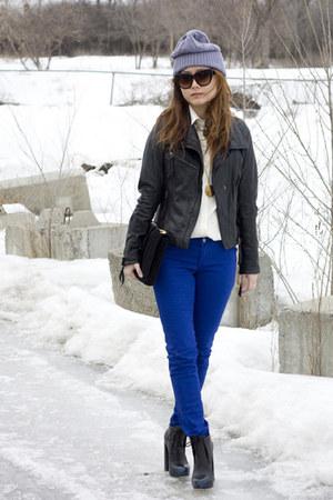 J Brand jeans - blue ombre tip Alexander Wang boots - Mexx blouse