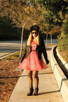 H&M dress - Forever 21 jacket - Aldo wedges