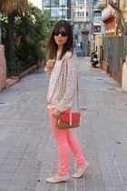 Zara jacket - Zara shoes - vintage shirt - Topshop bag - Forever 21 pants