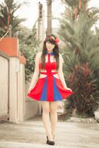 red romwe dress