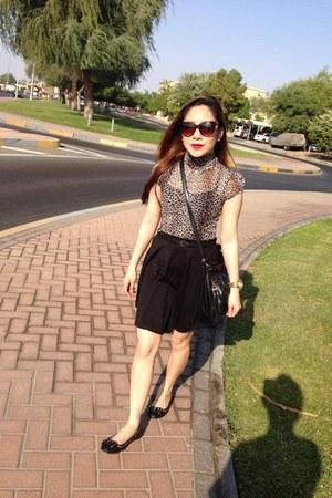 animal print lindex sunglasses - black skater new look skirt