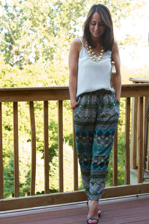 Aritzia pants - Aritzia top - Zara heels