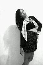 cardigan - chamomile skirt