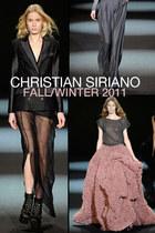 Christian Siriano Fall/Winter 2011