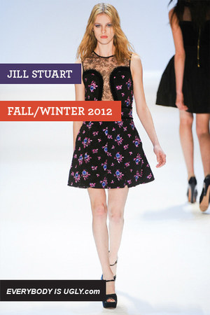 black Jill Stuart dress