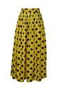 yellow vintage skirt