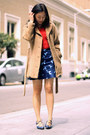 Blue-vintage-shoes-brown-vintage-coat-red-vintage-top-navy-asos-skirt