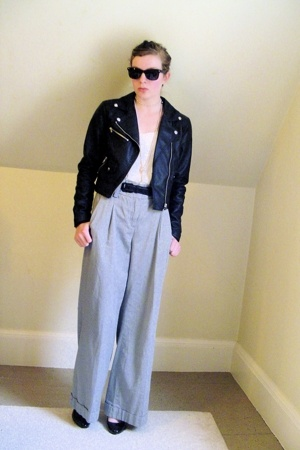 H&amp;M jacket - diy top - Express pants - Target shoes - from Portobello Road sungl