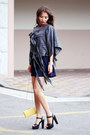 Charcoal-gray-cgbcn-blouse-navy-forever-21-romper
