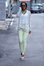 Light-yellow-forever-21-jeans-ivory-zappos-wedges