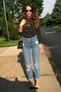 Thrifted-vintage-jeans-hermes-vintage-bag-ferre-vintage-sunglasses