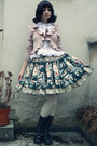 Black-handmade-by-reiko-skirt-white-anna-house-blouse