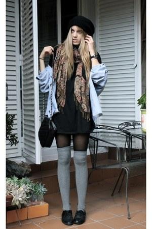 Ulanka bag - second hand shoes - flea market hat - second hand shirt