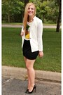 White-oasap-blazer-black-express-skirt-white-crop-top-windsor-store-top
