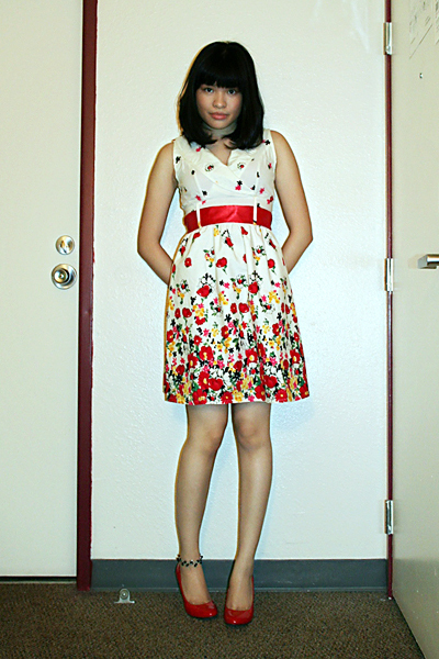 Lhasa dress - Aldo shoes - Forever 21 sweater - divisoria bracelet