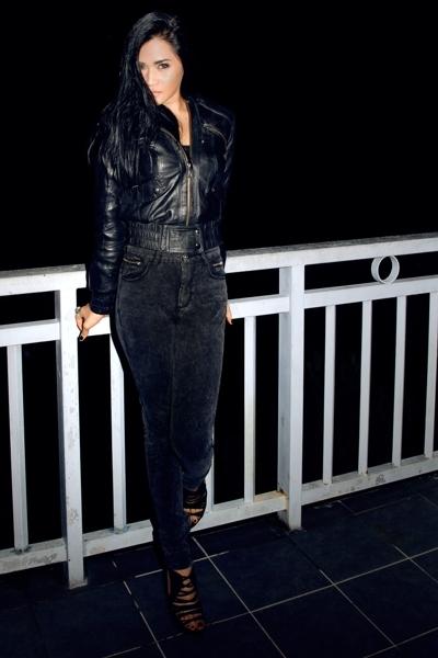 jacket - Topshop pants - landmark top - Zara shoes
