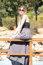 maxi skirt Zara skirt - H&M top