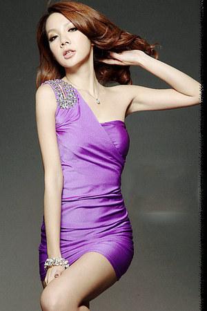 light purple dress